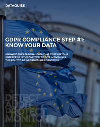 GDPR COMPLIANCE STEP #1: KNOW YOUR DATA