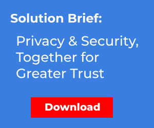 Solution Brief: Privacy and Security, Together for Greater Trust